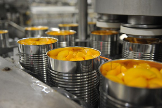canned fruit processing technology