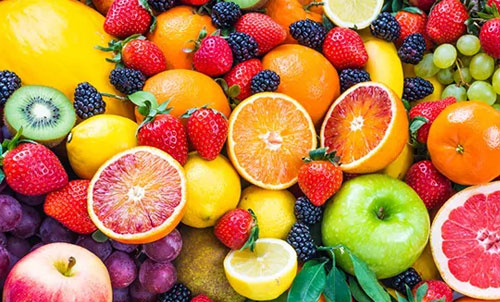 Selection of fruit raw materials