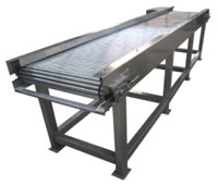 Rolling rail fruit sorting machine