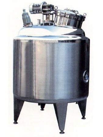 One stainless steel tank